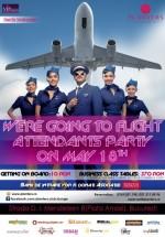 Flight Attendant Party în Club Planters din Bucureşti
