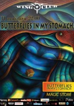 Concert Butterflies in My Stomach în Wings Club din Bucureşti