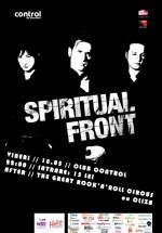 Concert Spiritual Front în Club Control din Bucureşti