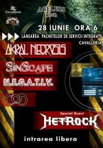 Metrock, COD, SinScape, N.E.G.A.T.I.V. & Akral Necrosis în Ageless Club din Bucureşti