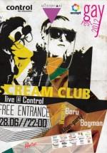 Concert Scream Club în Control din Bucureşti