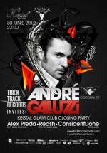 Andre Galluzzi în Kristal Glam Club din Bucureşti