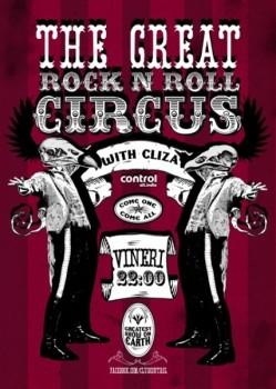 The Great Rock`n Roll Circus în Club Control din Bucureşti