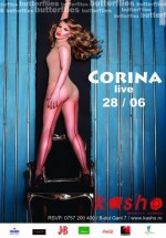 Concert Corina în Kasho Club din Braşov