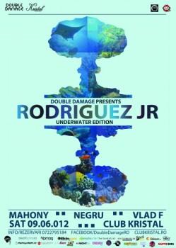 Rodriguez Jr. în Kristal Club din Bucureşti