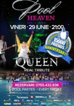 Queen Real Tribute în Heaven Pool & Lounge din Timişoara