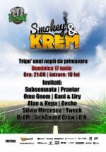 Concert Smokey & Krem în Elephant Pub din Bucureşti