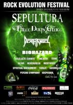 Rock Evolution Festival 2012 la Oradea – ANULAT