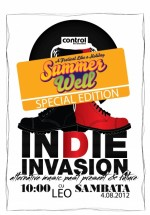 Indie Invasion în Club Control din Bucureşti