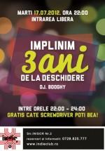 Aniversare 3 ani Indie Club din Bucureşti