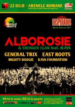 Concert LIVE Alborosie la Arenele Romane din Bucuresti