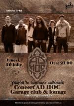 Concert Ad Hoc în Garage Club & Lounge din Bucureşti