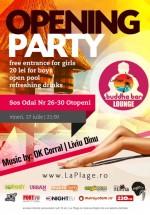 Opening Party în La Plage Club din Otopeni