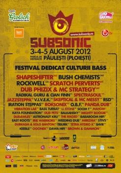 Subsonic Festival 2012 în Parcul Păuleşti