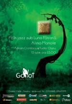 Alina Manole la Godot Cafe-Teatru din Bucureşti