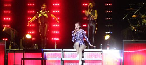 RECENZIE: Jessie J la Orange Summer Party 2012 (POZE)