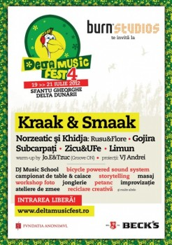 Delta Music Fest 2012 la Sfântu Gheorghe