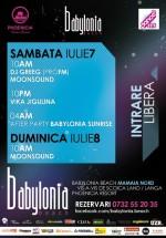 DJ Greeg, Vika Jigulina, MoonSound la Babylonia Beach din Mamaia