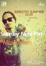 Concert Maximilian LIVE în Barletto Summer Club din Bucureşti