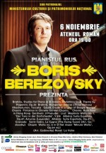 Concert Boris Berezovsky la Ateneul Român din Bucureşti