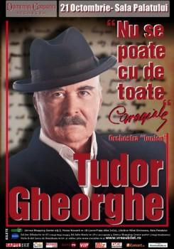 """Concert Tudor Gheorghe """"Nu se poate cu de toate"""" la Sala Palatului din Bucureşti"""