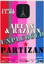 Concert Partizan unplugged în Tête-à-Tête din Bucureşti