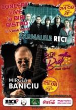 Concert Sarmalele Reci şi Mircea Baniciu la Bibi Bistro din Vama Veche