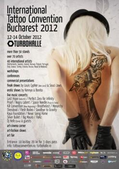 International Tattoo Convention – Bucharest 2012 în Turbohalle din Bucureşti