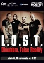 Concert L.O.S.T., DinUmbră, False Reality în Rockstadt Club din Braşov