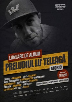 Lansare album Aforic în The Silver Church din Bucureşti
