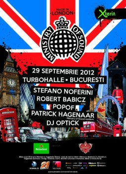 Ministry of Sound: Made in London în Turbohalle din Bucureşti