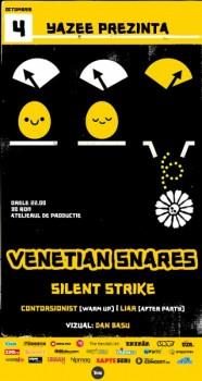 Concert Venetian Snares în Atelierul de Producţie din Bucureşti