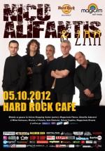 Concert Nicu Alifantis & Zan în Hard Rock Cafe din Bucureşti