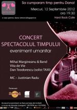 Concert caritabil în Hard Rock Cafe din Bucureşti
