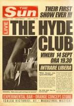Concert The Hyde Club LIVE în Orange Concept Store din Bucureşti