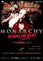 Concert Monarchy în Irish & Music Pub din Cluj-Napoca