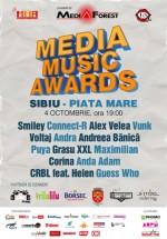 Media Music Awards în Piaţa Mare din Sibiu