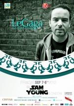 DJ Sam Young în Le Gaga din Bucureşti