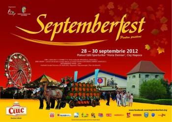 Septemberfest 2012 la Cluj-Napoca