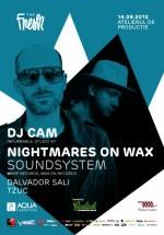 Nightmares On Wax şi DJ CAM în Atelierul de Producţie din Bucureşti
