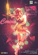 Corina în Barletto Summer Club din Bucureşti