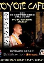 Concert Puiu Creţu Band în Coyote Cafe din Bucureşti