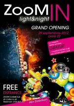 Opening Party ZOOM Cafe&Club din Bucureşti