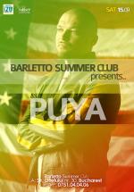 Concert Puya în Barletto Summer Club din Bucureşti
