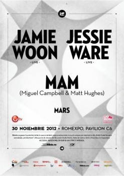 Jamie Woon, Jessie Ware şi M.A.M. la Romexpo din Bucureşti