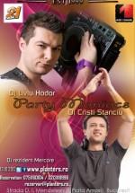 Liviu Hodor şi Cristi Stanciu în Club Planters din Bucureşti