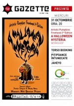 A Halloween Hysteria în La Gazette din Cluj-Napoca
