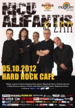 Nicu Alifantis & Zan în Hard Rock Cafe din Bucureşti