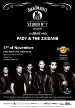 Concert LIVE Fady & The Zaidans în Hard Rock Cafe din Bucureşti