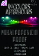 Mihai Popoviciu şi Proof în Colors Club din Bucureşti